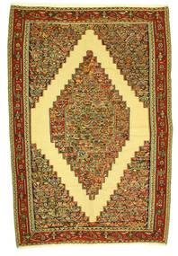 Kilim Senneh Szőnyeg 198X292 Keleti Kézi Szövésű (Gyapjú, Perzsia/Irán)