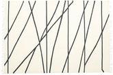Cross Lines - Off White / Fekete